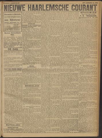 Nieuwe Haarlemsche Courant 1917-08-06