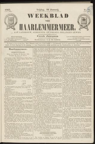 Weekblad van Haarlemmermeer 1863-01-16