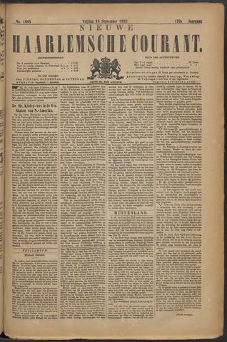 Nieuwe Haarlemsche Courant 1892-09-16