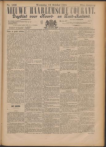 Nieuwe Haarlemsche Courant 1904-10-12