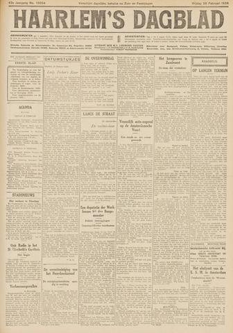 Haarlem's Dagblad 1926-02-26