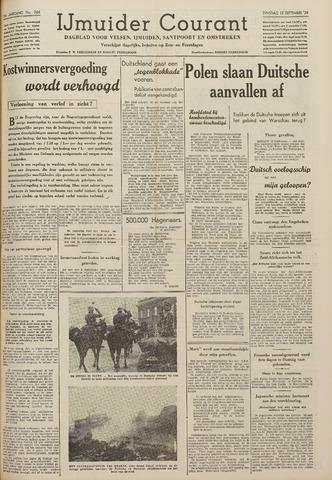 IJmuider Courant 1939-09-12