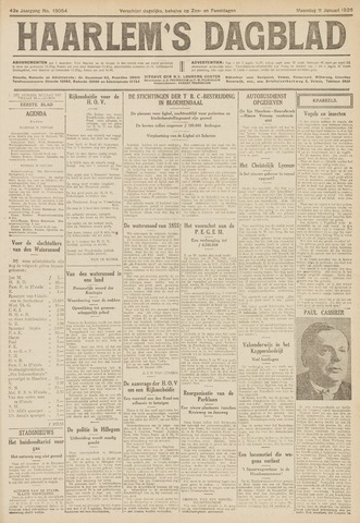 Haarlem's Dagblad 1926-01-11