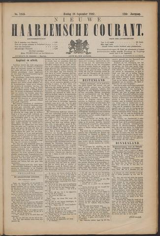 Nieuwe Haarlemsche Courant 1887-09-18