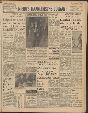 Nieuwe Haarlemsche Courant 1964-04-02
