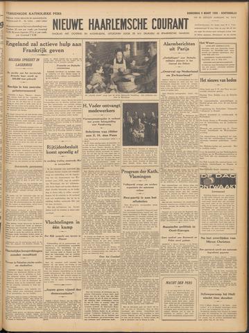 Nieuwe Haarlemsche Courant 1939-03-09