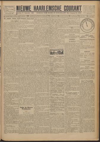 Nieuwe Haarlemsche Courant 1925-09-21