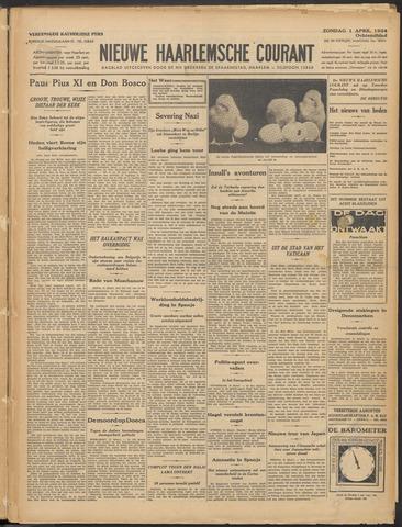 Nieuwe Haarlemsche Courant 1934-04-01