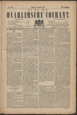 Nieuwe Haarlemsche Courant 1889-10-13
