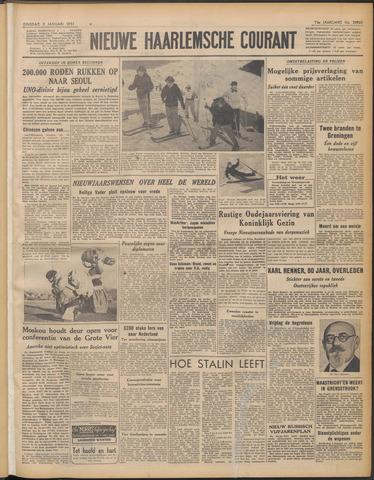Nieuwe Haarlemsche Courant 1951