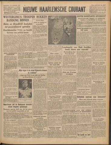 Nieuwe Haarlemsche Courant 1950-01-23