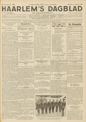 Haarlem's Dagblad 1935-08-05
