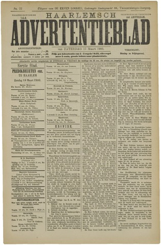 Haarlemsch Advertentieblad 1900-03-17