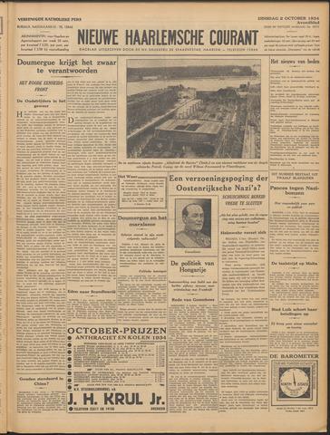 Nieuwe Haarlemsche Courant 1934-10-02