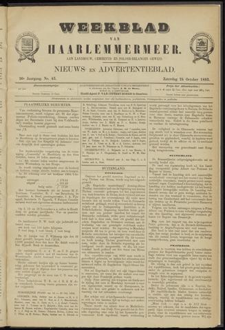 Weekblad van Haarlemmermeer 1885-10-24