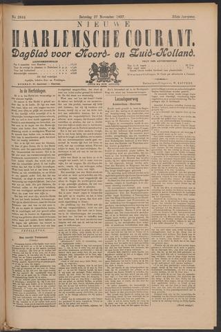 Nieuwe Haarlemsche Courant 1897-11-27