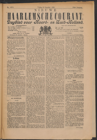 Nieuwe Haarlemsche Courant 1899-12-29
