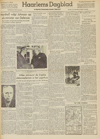 Haarlem's Dagblad 1950-09-13