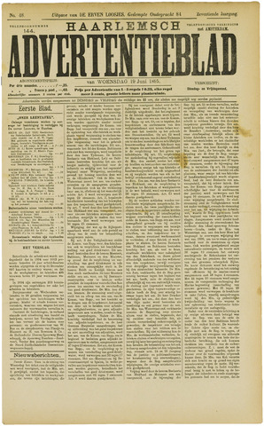 Haarlemsch Advertentieblad 1895-06-19