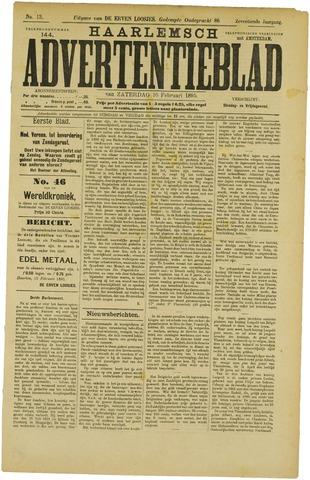 Haarlemsch Advertentieblad 1895-02-16