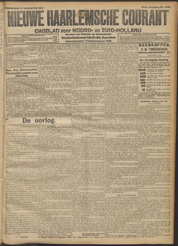 Nieuwe Haarlemsche Courant 1914-08-27