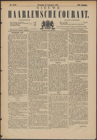 Nieuwe Haarlemsche Courant 1894-09-26