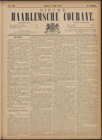 Nieuwe Haarlemsche Courant 1879-04-27