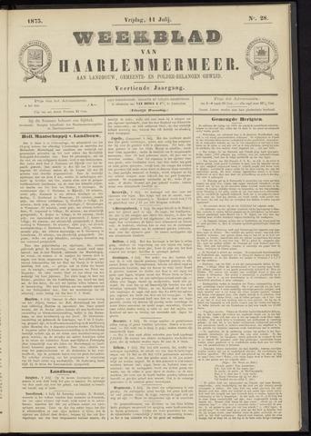 Weekblad van Haarlemmermeer 1873-07-11