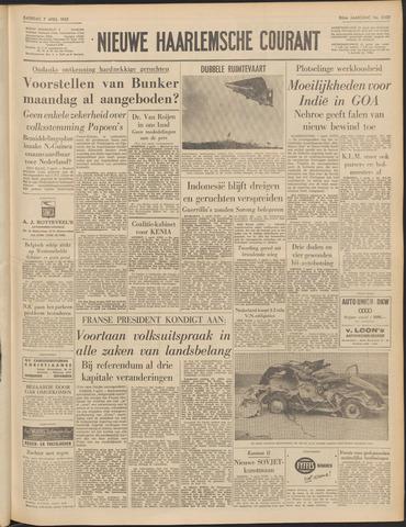 Nieuwe Haarlemsche Courant 1962-04-07