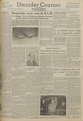 IJmuider Courant 1948-10-21