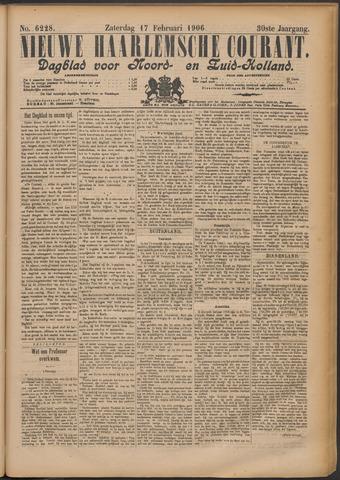 Nieuwe Haarlemsche Courant 1906-02-17