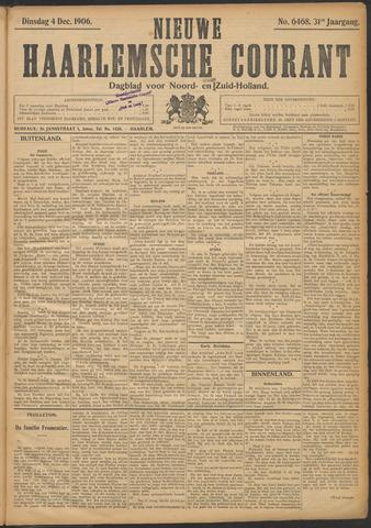 Nieuwe Haarlemsche Courant 1906-12-04