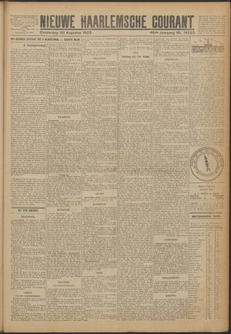 Nieuwe Haarlemsche Courant 1923-08-30