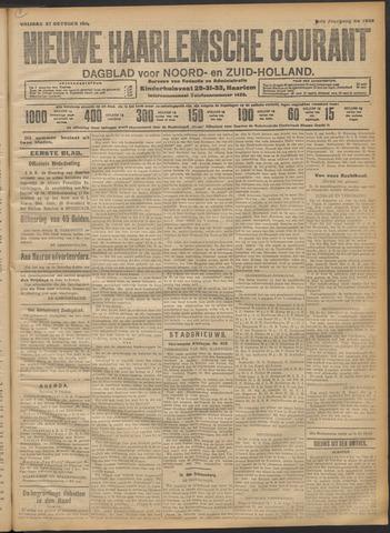 Nieuwe Haarlemsche Courant 1911-10-27