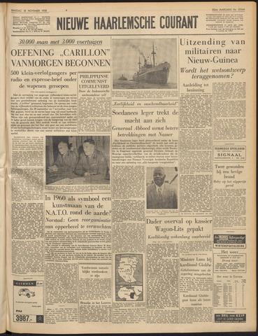 Nieuwe Haarlemsche Courant 1958-11-18