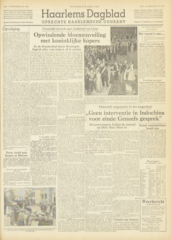 Haarlem's Dagblad 1954-04-28
