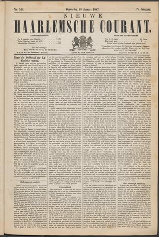 Nieuwe Haarlemsche Courant 1882-01-19