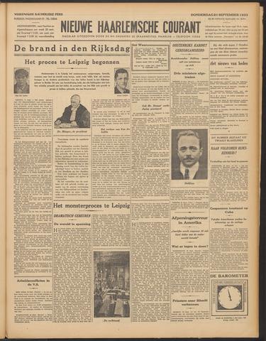 Nieuwe Haarlemsche Courant 1933-09-21
