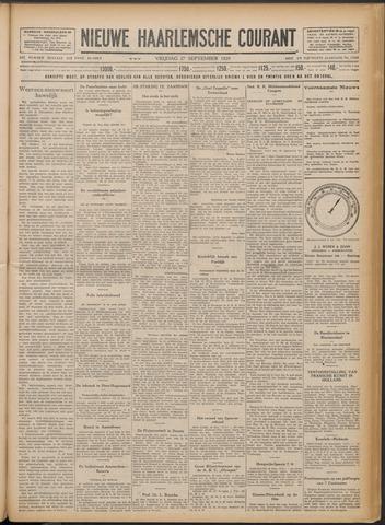 Nieuwe Haarlemsche Courant 1929-09-27