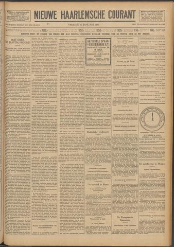 Nieuwe Haarlemsche Courant 1931-01-16