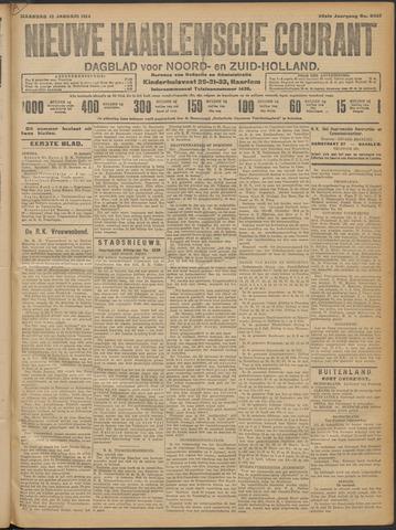 Nieuwe Haarlemsche Courant 1914-01-12