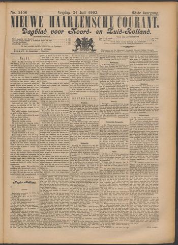 Nieuwe Haarlemsche Courant 1903-07-31