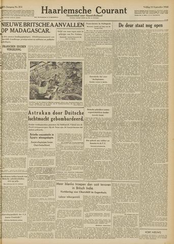 Haarlemsche Courant 1942-09-11