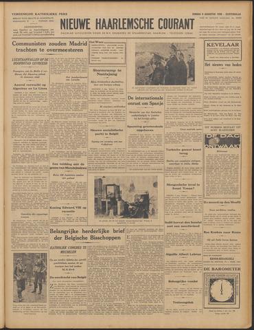 Nieuwe Haarlemsche Courant 1936-08-09