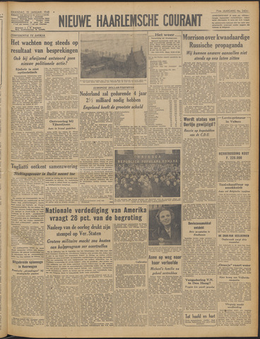 Nieuwe Haarlemsche Courant 1948-01-12