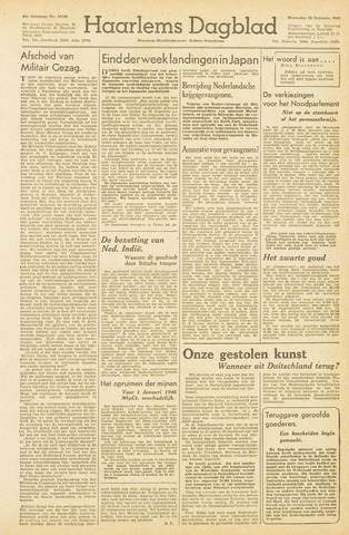 Haarlem's Dagblad 1945-08-22