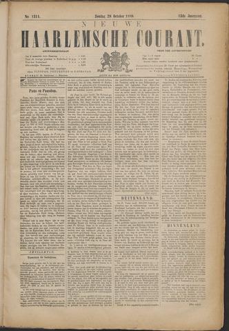 Nieuwe Haarlemsche Courant 1888-10-28