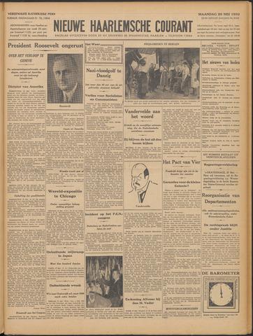 Nieuwe Haarlemsche Courant 1933-05-29