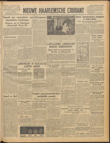 Nieuwe Haarlemsche Courant 1950-08-08