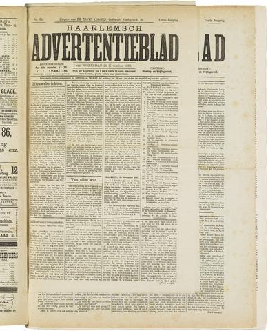 Haarlemsch Advertentieblad 1882-11-29
